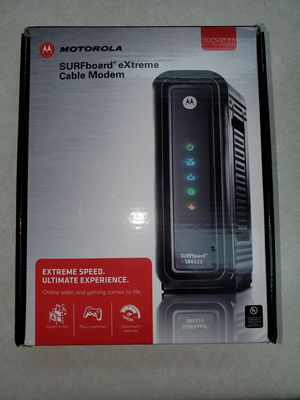 Motorola surfboard extreme cable modem for Sale in Hampton, GA