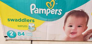 Size 2 pampers diaper 84ct for Sale in Las Vegas, NV