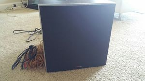 "10"" Powered Subwoofer Polk Audio for Sale in Silver Spring, MD"