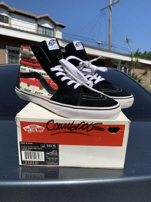 "2012 Supreme x Vans Skate Hi Andy Warhol ""Campbell's"" Size 10.5 for Sale in Long Beach, CA"