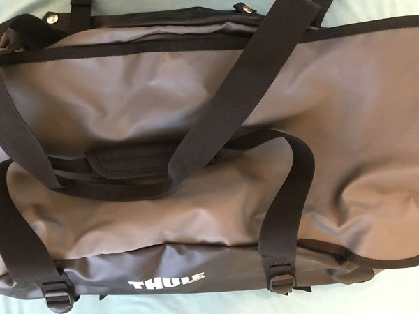 Thule duffle bag with backpack straps