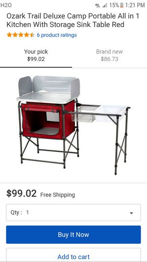 New camping portable kitchen for Sale in Germantown, MD