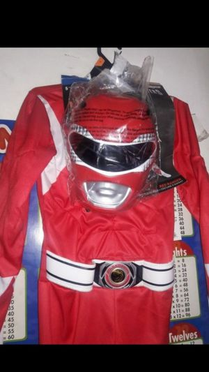 red ranger costume for Sale in Battle Ground, WA