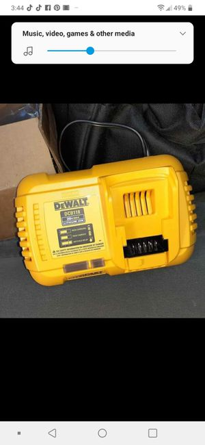 New Dewalt 20v rapid charger (PRICE IS FIRM) for Sale in Warwick, RI