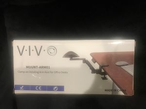 Vivo Mount-ARM01 Clamp-on Rotating Arm rest for Office Desks for Sale in Glendale, CA