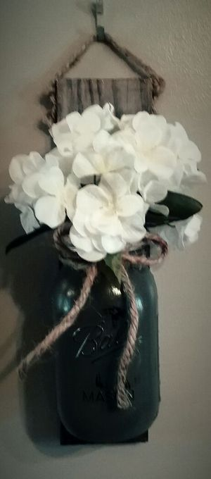 Mason Jar Wall Vase for Sale in Murfreesboro, TN