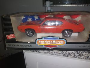 1969 pontiac gto judge die cast car for Sale in Fort Worth, TX
