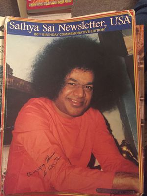 Sathya Sai Baba Newsletter 80th Birthday Commemorative Edition for Sale for sale  Queens, NY