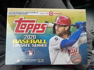 2020 Topps MLB update series mega box for Sale in Cupertino, CA