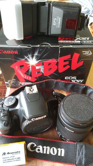 Canon RebelXsi DSLR Camera set for Sale in Fuquay Varina, NC
