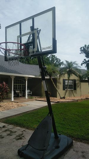 Basketball hoop adjustable for Sale in Lakeland, FL