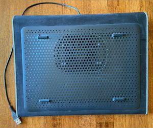 Targus Laptop Lap Desk Cooling Pad with Fan USB Powered for Sale in Hampton, VA