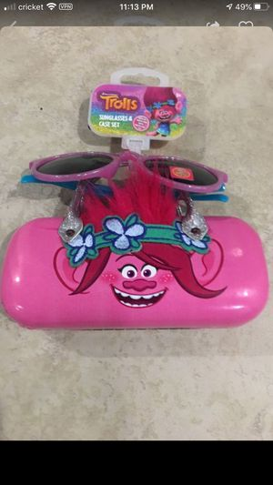 Dreamworks Trolls Sunglasses and Case Set for Sale in San Diego, CA