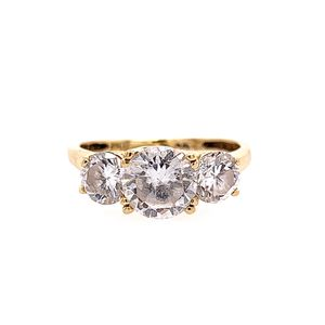 14k 3-CZ Ring for Sale in Alexandria, VA