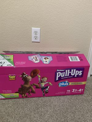 Huggies Pull-Ups for girls (3T-4T) for Sale in Phoenix, AZ