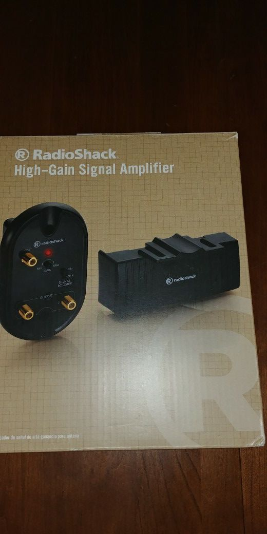 Brand new radio shack out side power antena