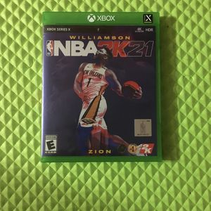 NBA 2K21 (Xbox Series X) for Sale in Annandale, VA