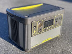 GOAL ZERO YETI 400 LITHIUM PORTABLE POWER STATION SOLAR GENERATOR for Sale in Los Angeles, CA