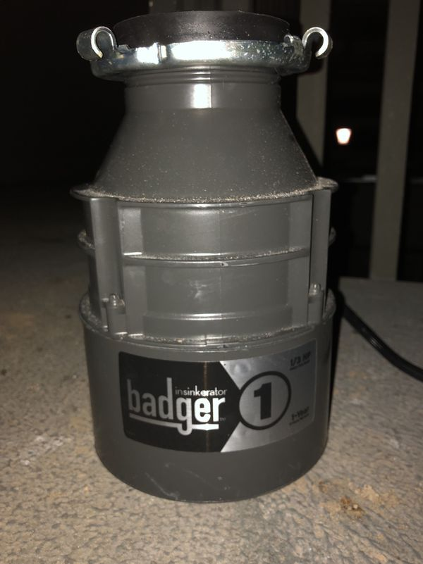 Badger Garbage Disposal For Sale In Des Moines Wa Offerup