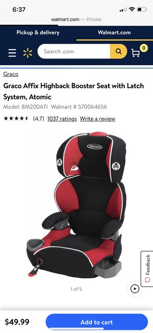 Grace booster seat with back for Sale in Dublin, CA