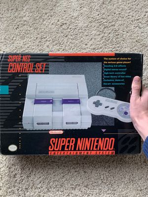 Super Nintendo control set for Sale in Manteca, CA