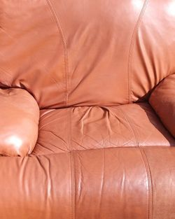 3 Set Real Leather Couches Reclinable Normal Use For Only 200 Or Best Offer for Sale in Tampa,  FL