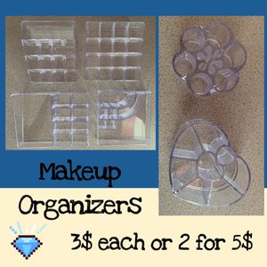 Makeup Organizers for Sale in Victorville, CA