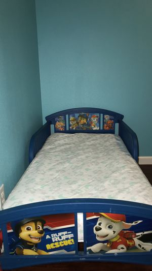 Paw Patrol Toddler Bed for Sale in Corning, CA