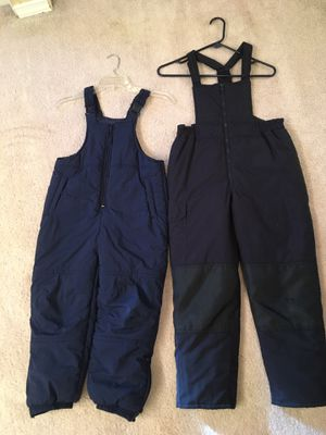 Navy Blue Kid's Snow/Ski Pants (6/7) and (M) for Sale in Sammamish, WA