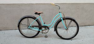 1947 Schwinn 26 inch Beach Cruiser bicycle. Rides and stops great. for Sale in Orange, CA