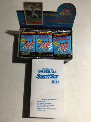 Unopened Baseball Wax Boxes for Sale in Federal Way, WA