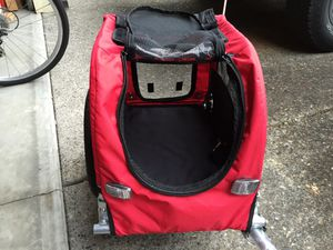 Booyah small dog bike trailer for Sale in Troutdale, OR