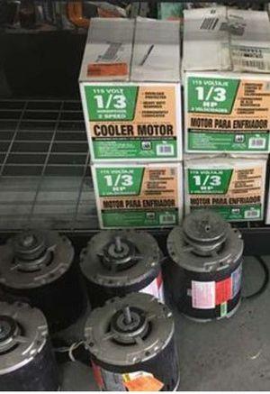 Dial 1/3 HP Evaporative Cooler Motor for Sale in Mesa, AZ