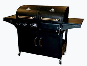 CharBroil Dual Gas Charcoal BBQ Grill for Sale in Houston, TX