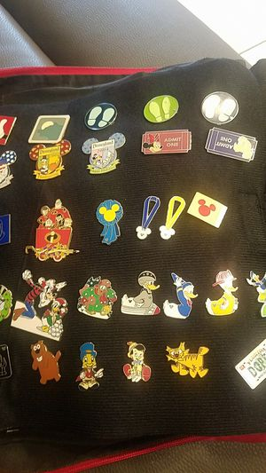 Lot of WDW & Disney lot of 30 pins for Sale in La Habra Heights, CA