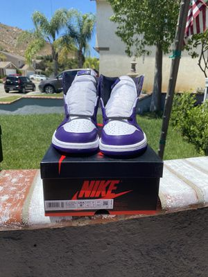 Air Jordan 1 'Court Purple' size 8.5 for Sale in Fontana, CA