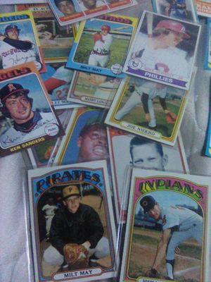 Vintage baseball and hockey cards. for Sale in Hanford, CA