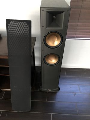 Pair of Klipsch Reference IV RF 82 speakers for Sale in Chandler, AZ
