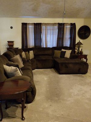 Electric sectional couch for Sale in Missouri City, TX