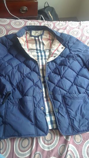 Burberry Men's Jacket Size Medium for Sale in Cleveland, OH