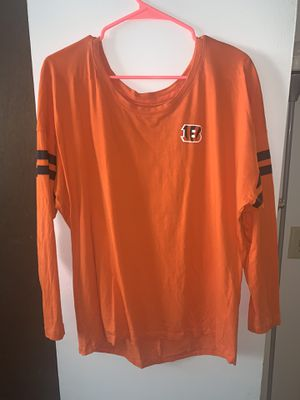 nike bengals long sleeve for Sale in Dublin, OH