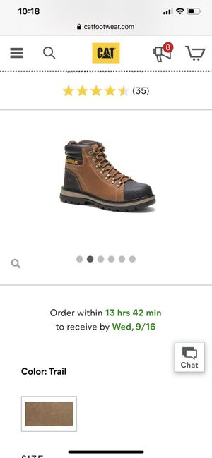Men's steel toe boots for Sale in Cincinnati, OH