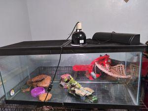 75 gallon fish tank for Sale in Longview, TX