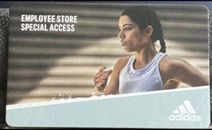 Adidas Employee Store Pass (50% off EVERYTHING) for Sale in Portland, OR