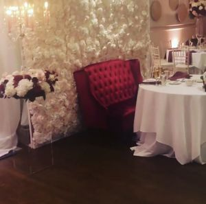Flower Wall perfect for weddings and photo booths for Sale in Boston, MA