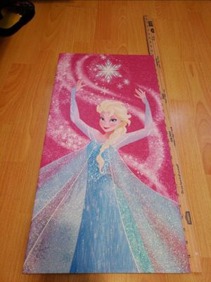 Disney Frozen Elsa Picture Painting, Olaf Kids Girls for Sale in New York, NY