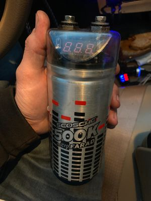 .5 farad capacitor for car audio systems for Sale in Marysville, WA