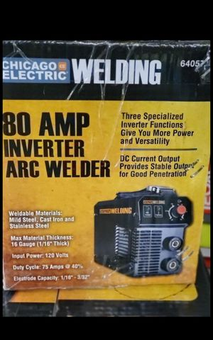 CHICAGO ELECTRIC 80 AMP INVERTER RC WELDER BRAND NEW for Sale in San Bernardino, CA