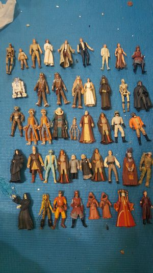 Star wars action figures for Sale in Brentwood, CA