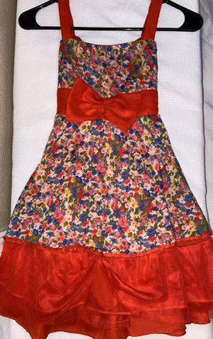 Red Floral dress (girls) for Sale in Las Vegas, NV